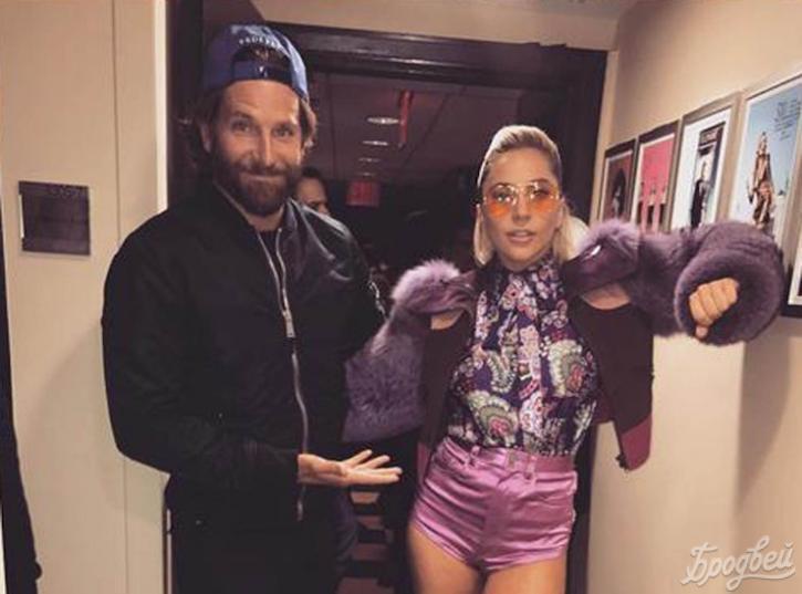 Леди Гага пригласила фанатов сниматься сней уБрэдли Купера