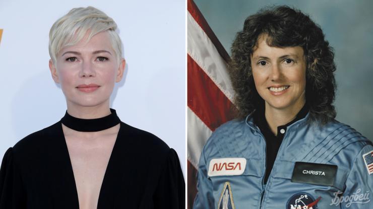 Челленджер Мишель Уильямс сыграет роль астронавта Кристы Маколифф