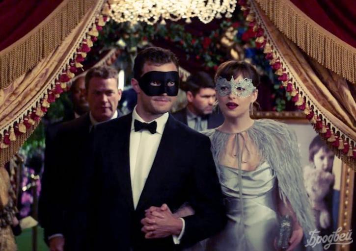 Дакота Джонсон вновом «горячем» трейлере эротического фильма «На50 оттенков темнее»