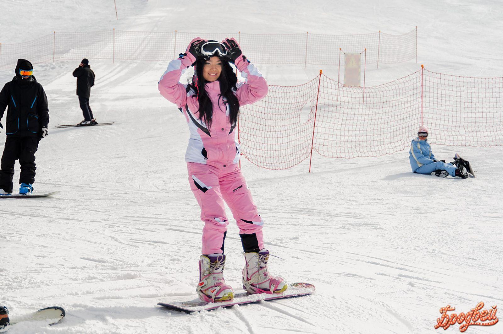 Фото лыжника на аву