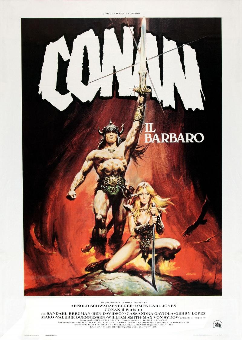 Постер для конан варвар